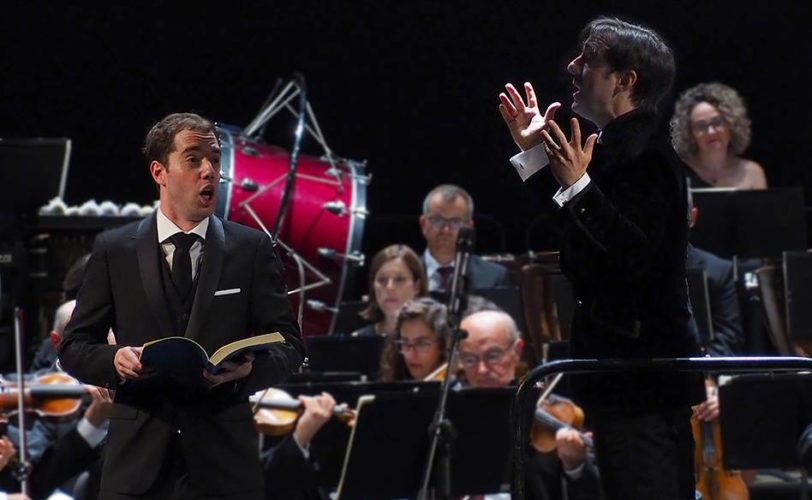 Ilusionante presentación del nuevo director de la Orquesta de Córdoba