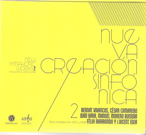 Nueva Creación Sinfónica – Vol. 2