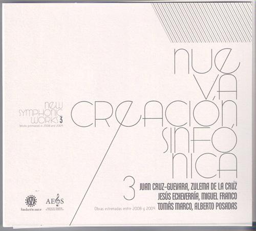 Nueva Creación Sinfónica – Vol. 3