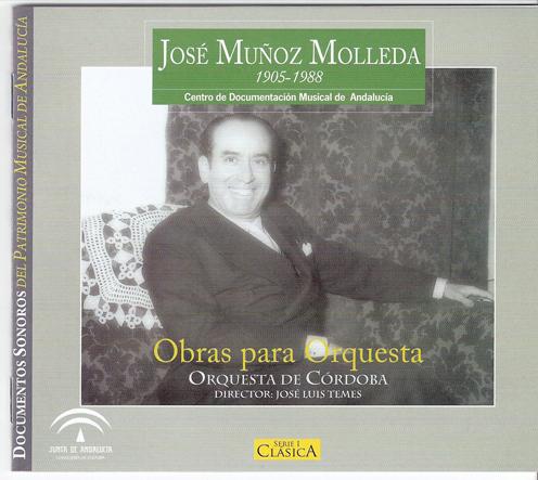 Obras para orquesta de José Muñoz Molleda
