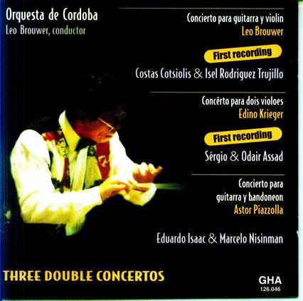 Tres dobles conciertos