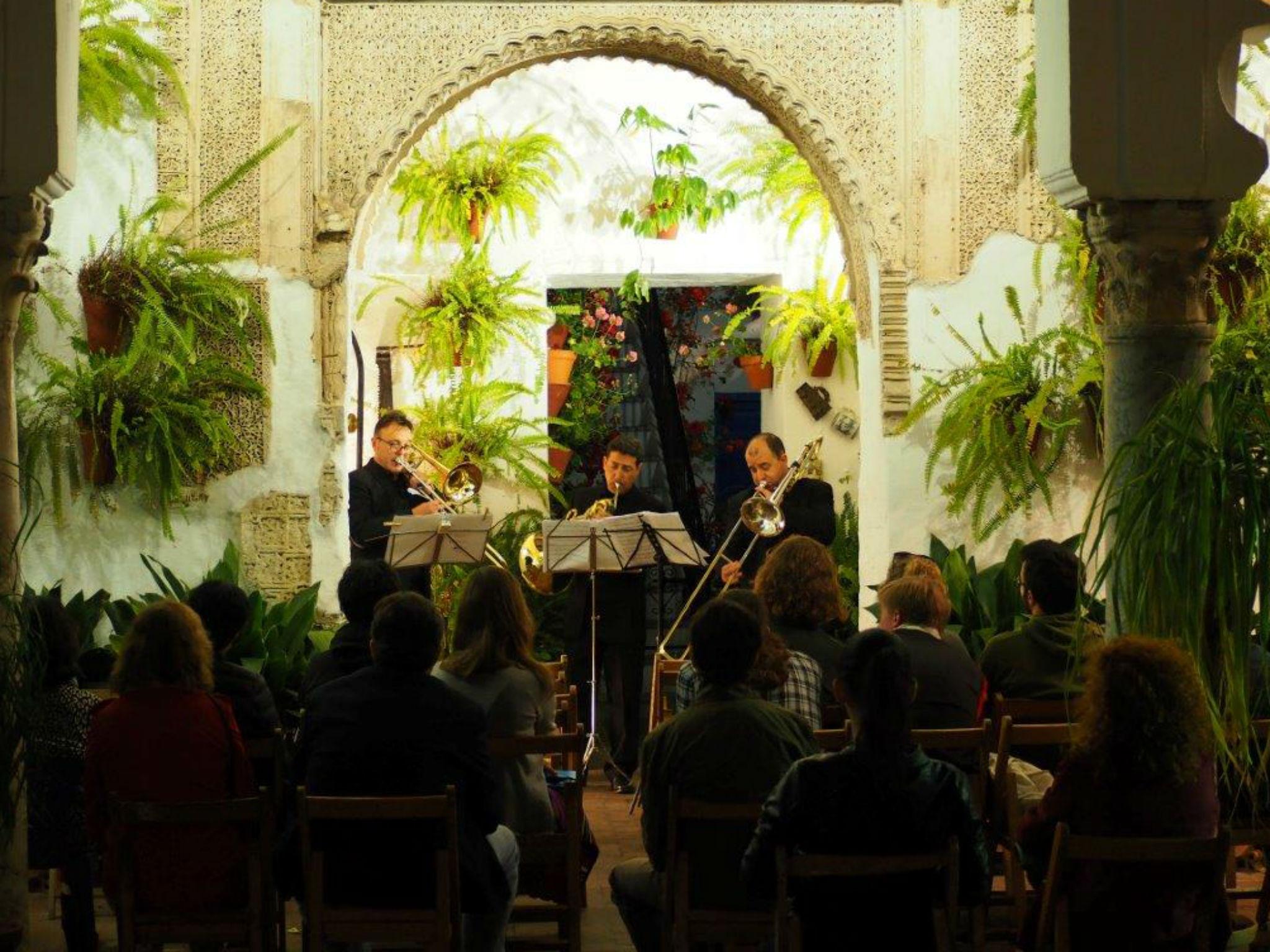 Música clásica en los Patios de Córdoba