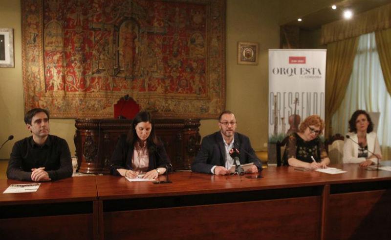 El número de abonados a la Orquesta de Córdoba crece un 11%, el mejor dato en cinco años