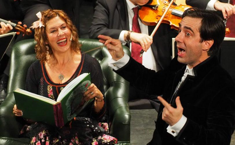 Marisol Membrillo volverá a narrar el concierto de Navidad