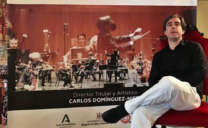 """ENTREVISTA CARLOS DOMÍNGUEZ-NIETO: """"LA CIUDAD HA AGRADECIDO LO QUE LA ORQUESTA HA HECHO EN LA PANDEMIA"""""""